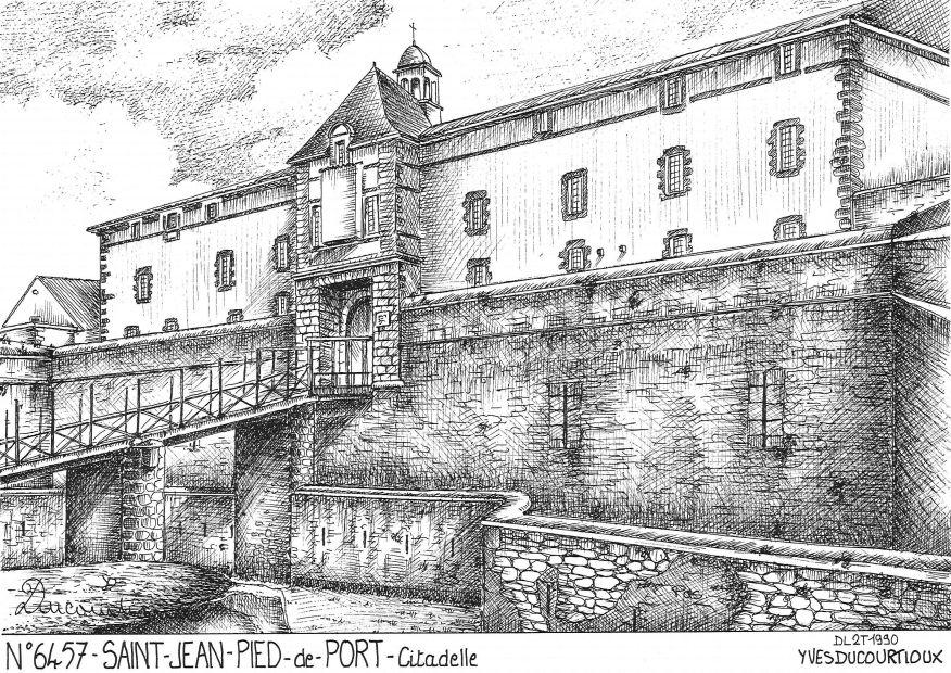 Cartes postales de st jean pied de port 64 pyrenees atlantiques yves ducourtioux editeur - Hotel des pyrenees st jean pied de port ...