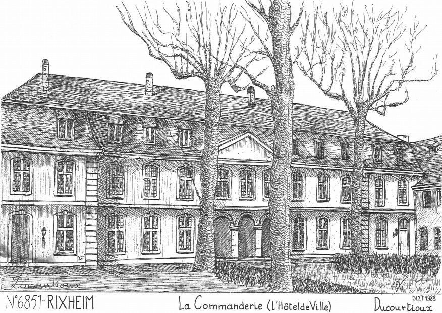 Cartes postales de echery 68 haut rhin yves ducourtioux for Piscine de rixheim