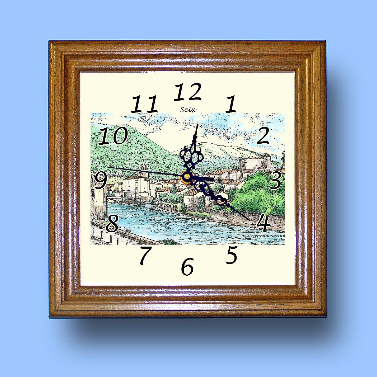 HG CL 09172 - Horloge avec une vue de 09 SEIX Z44QgeAk-09112044-885535668