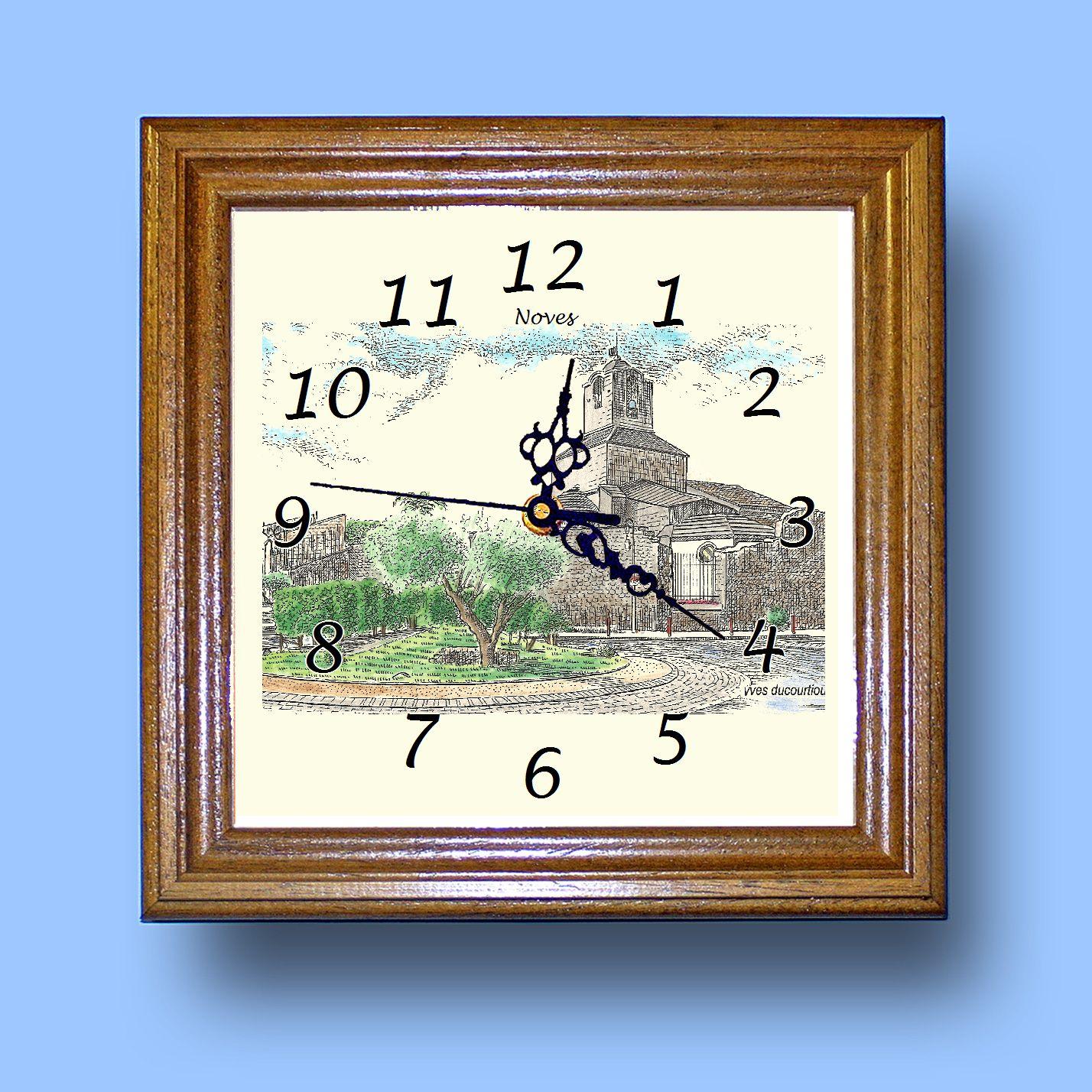 HG CL 13308 - Horloge avec une vue de 13 NOVES 4fgT9AAT-08025736-639962151