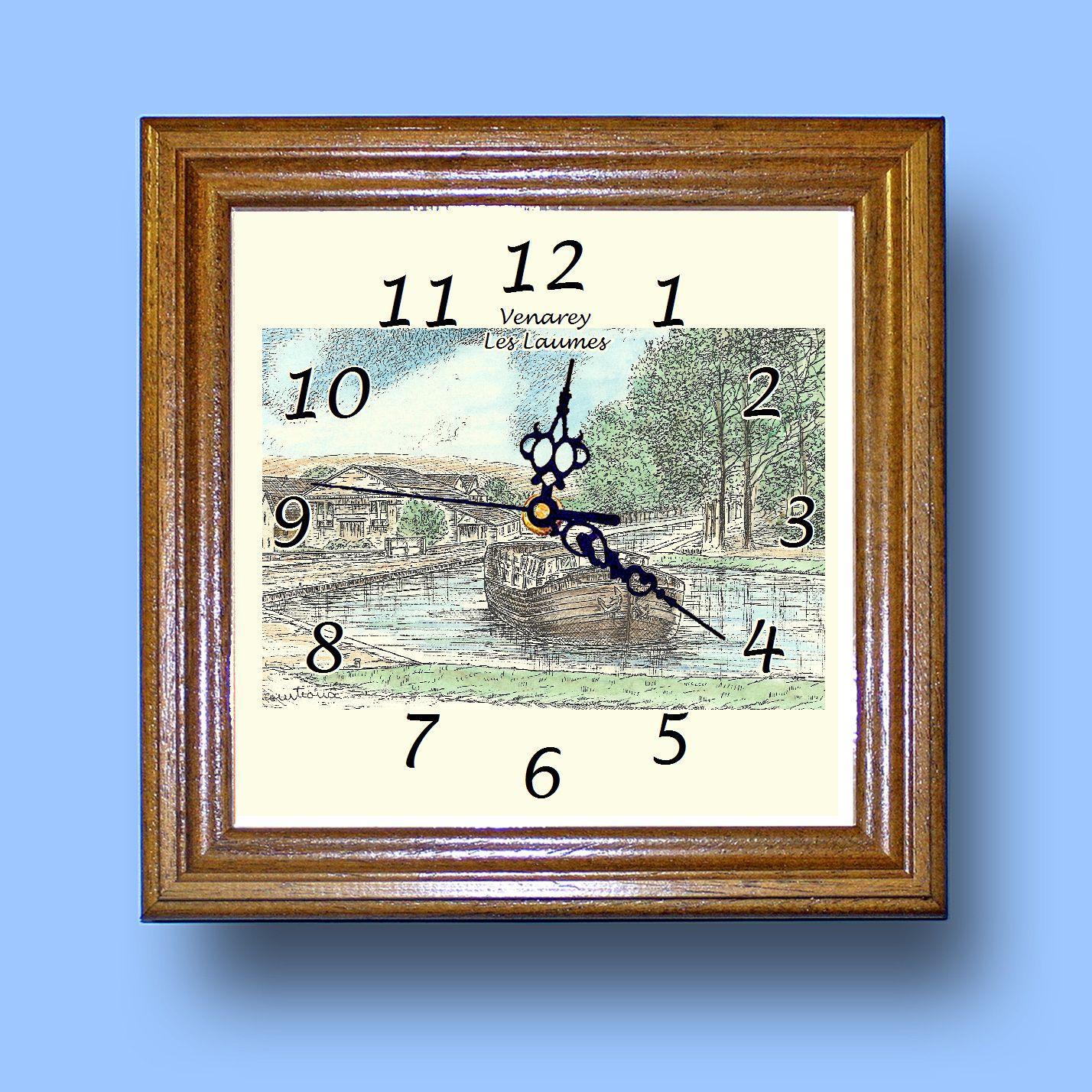 HG CL 21039 - Horloge avec une vue de 21 VENAREY LES LAUMES CgU6RYAM-08070425-623799679