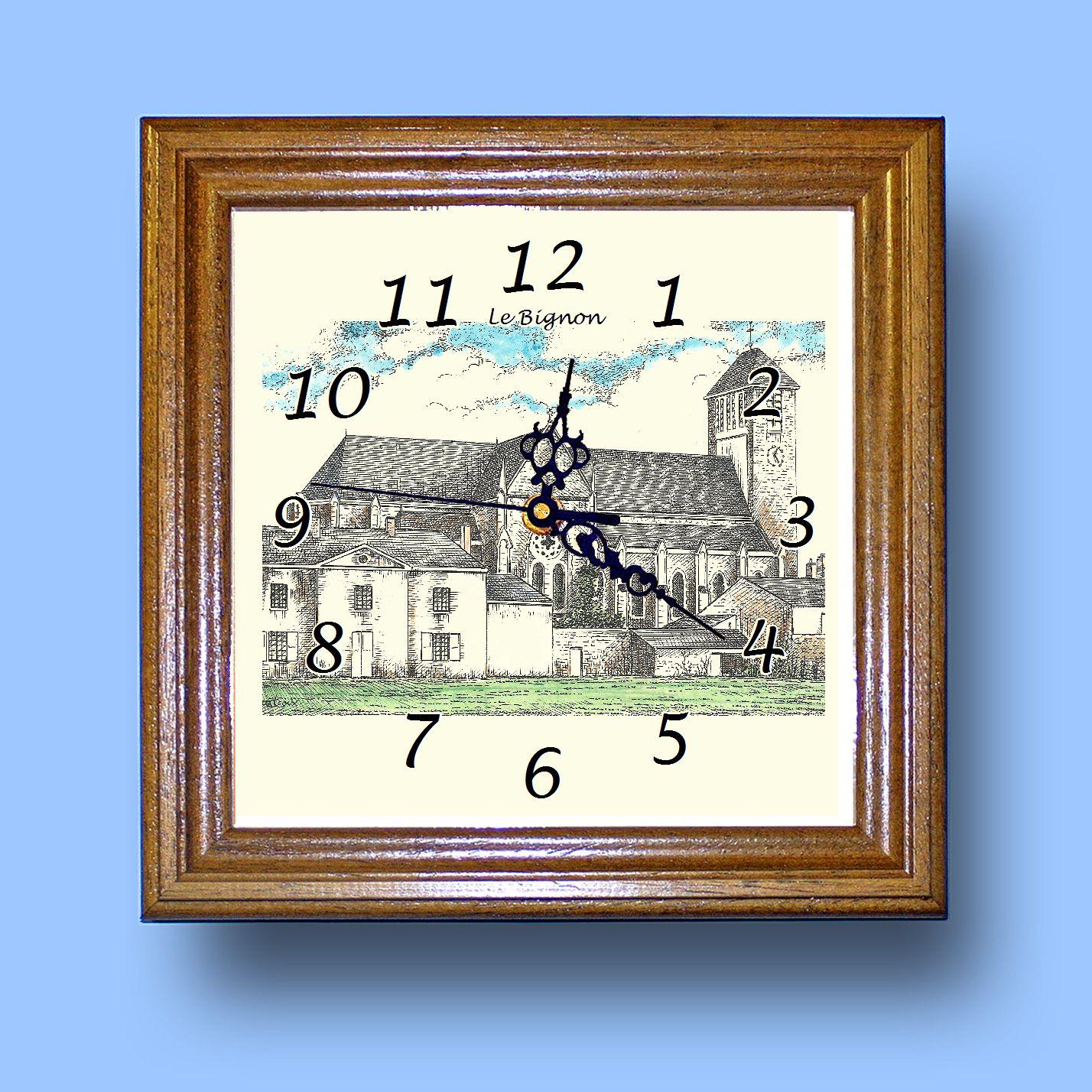 HG CL 44234 - Horloge avec une vue de 44 LE BIGNON Zid44dY4-08070425-603731684